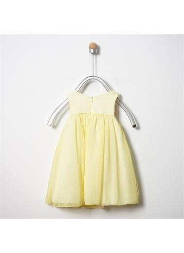 Panço Abiye Elbise 19126095100 Sarı